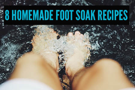 homemade foot soak recipes