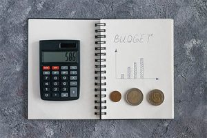 create a budget - ways to save money